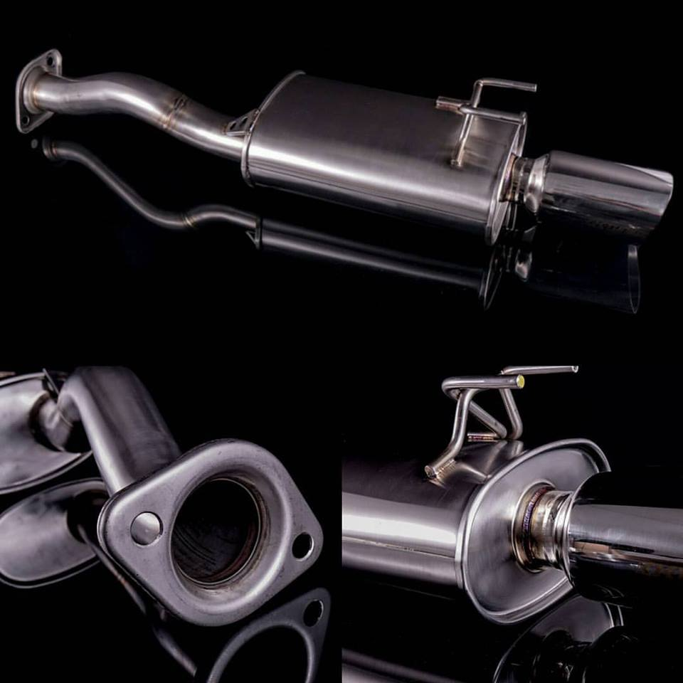 New 9th gen Civic Si axle back. Pre-Orders now available