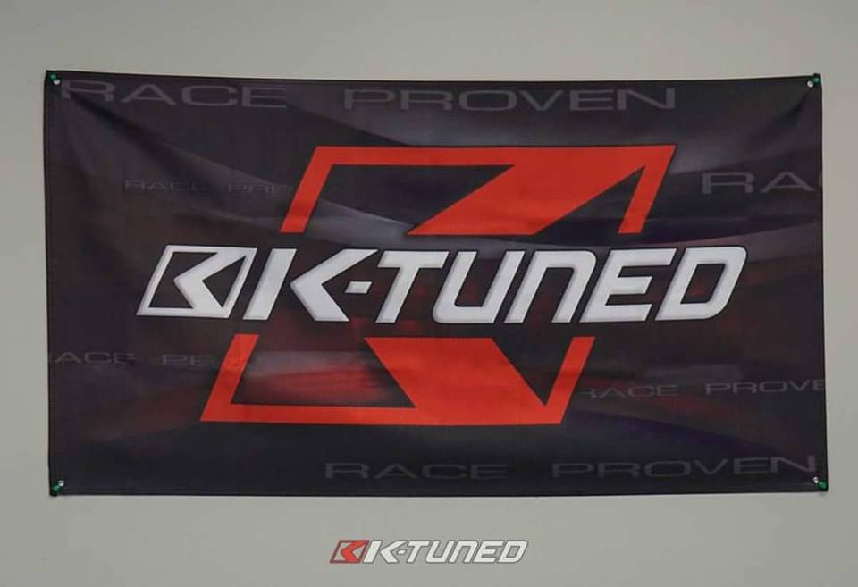 New K-Tuned Garage/Shop Banner