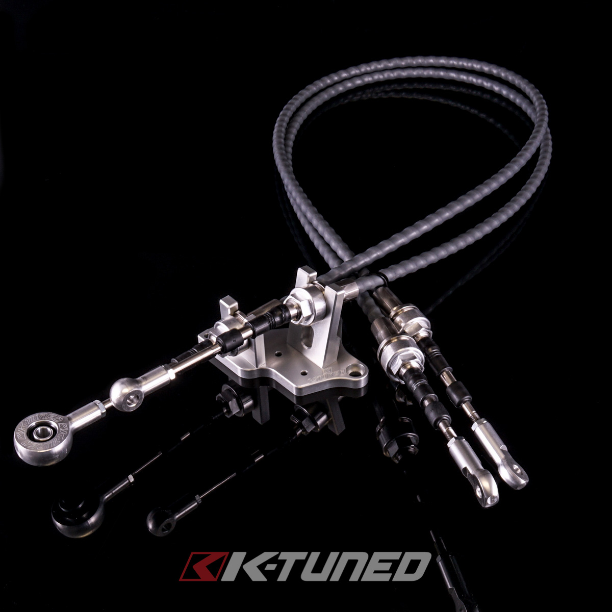 New Product  Race-Spec Shifter Cables w/Bracket - K24Z7 Transmission w/RSX Type S Selector