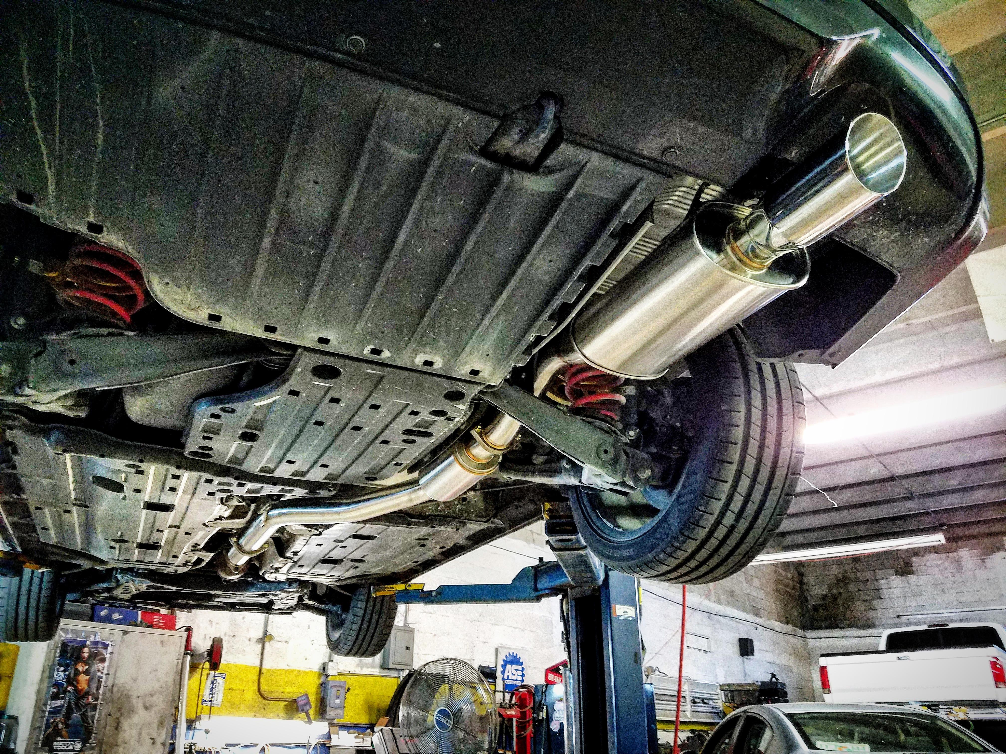 9th Gen Civic Si 3 Quot Exhaust