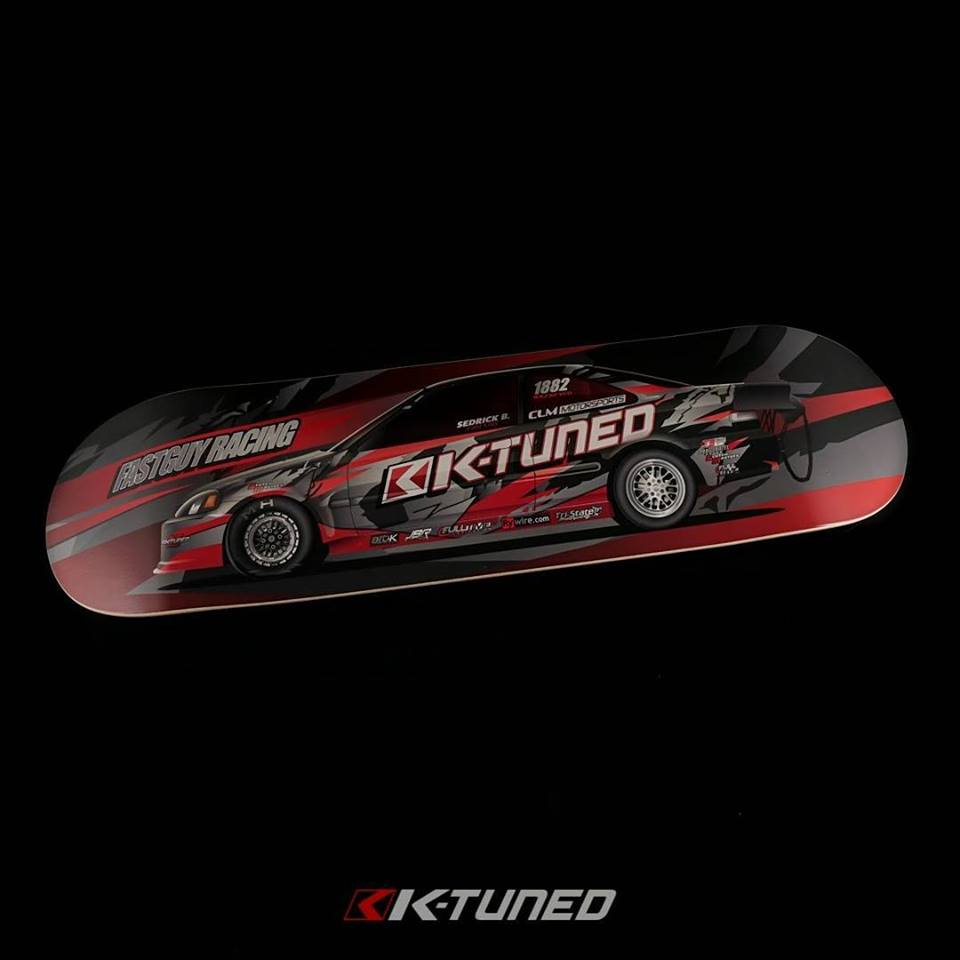 New Fastguyracing / K-tuned SFWD Skateboard