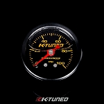 K-Tuned Fuel Pressure Gauge, Liquid Filled (0-100 psi)