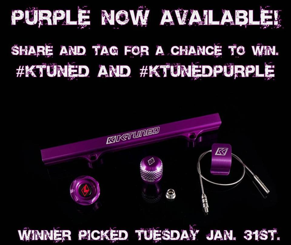 Purple now available!