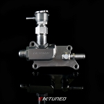 K24/K20Z3 Upper Coolant Housing with Integrated Filler - Straight Inlet (Scratch and Dent)