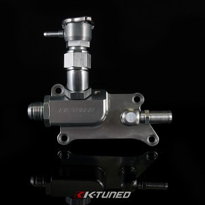 K24/K20Z3 Upper Coolant Housing with Integrated Filler - Straight Inlet