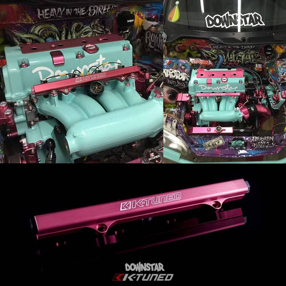 Now available in a very limited quantity Downstar edition pink fuel rail