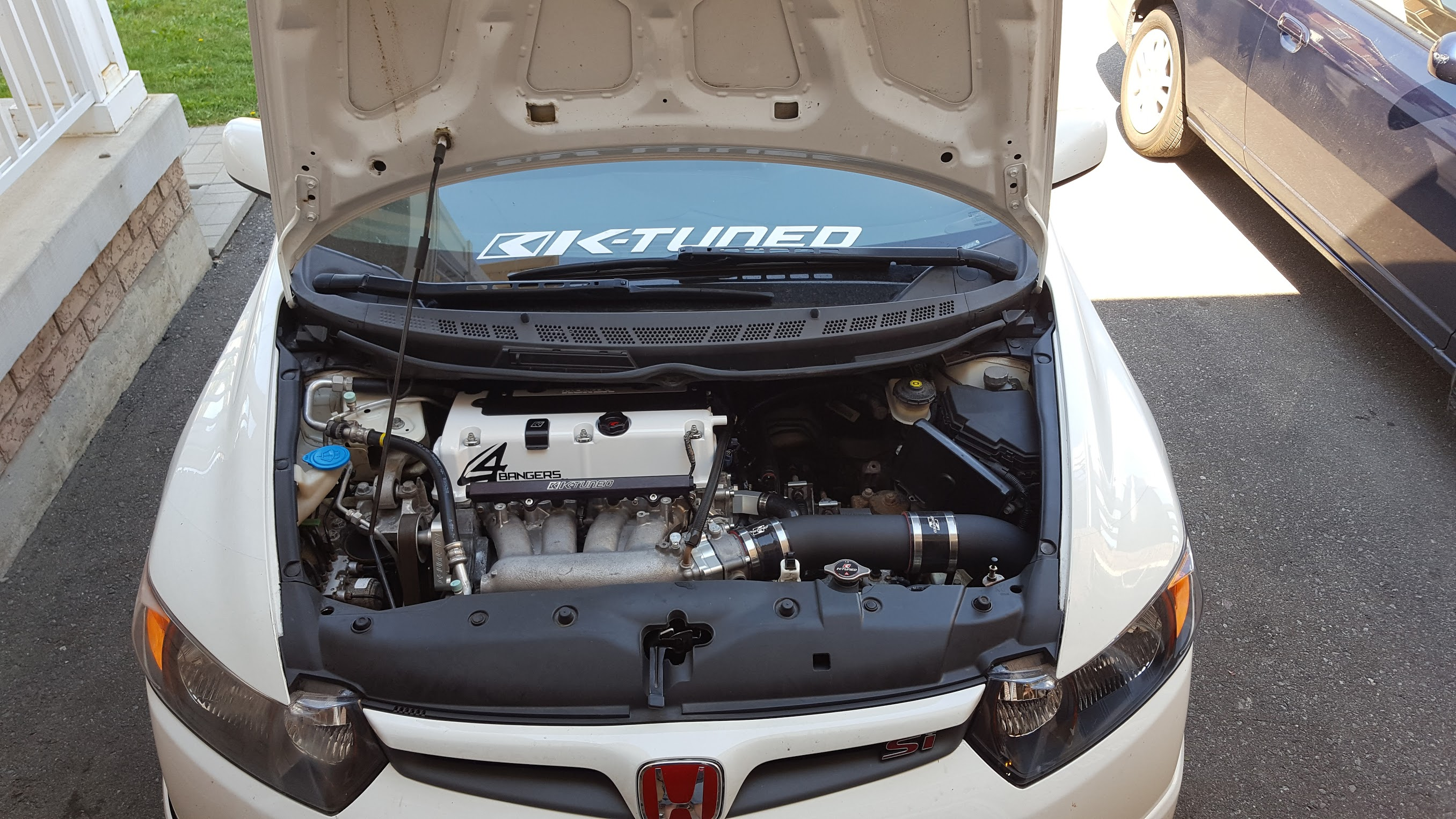 8th Gen Intake Br Short Ram And Cai