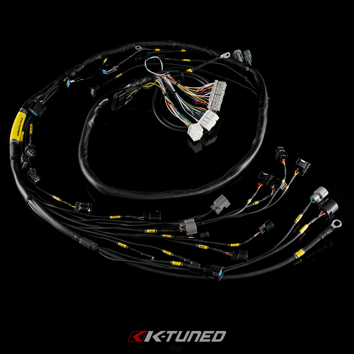 Welcome To K Tuned Race Proven B18b1 Wiring Harness Diagram Series Tucked Engine