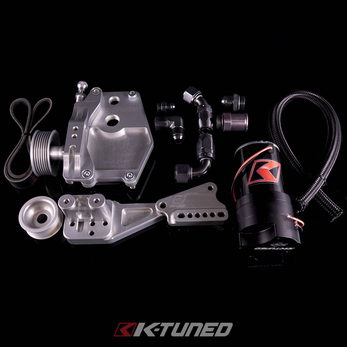 Welcome To K Tuned Race Proven Dc2 Gsr Engine Wiring Diagram Complete Series Alternator Water Plate Kit W Electric Pump
