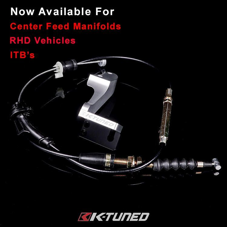 Now available RHD throttle cable and CF throttle cables