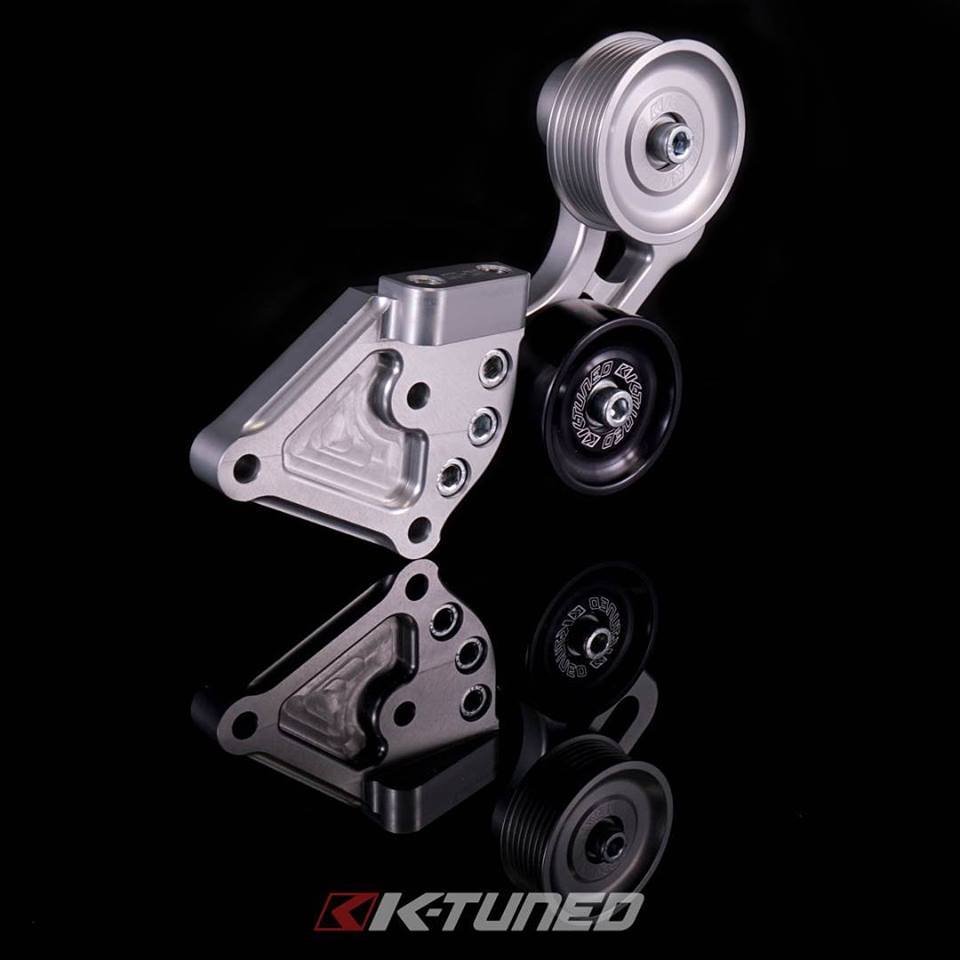 K-Tuned Side Mount Pulley Kit Now Available